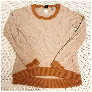 Knitted & Knotted Sweater by Anthropologie